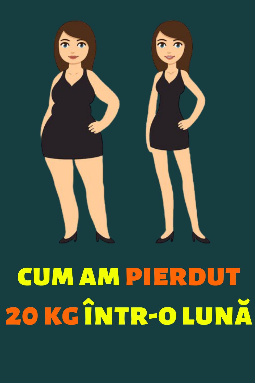 1 lună pierdere în greutate 30 kg rcmc pierderea in greutate hesperia