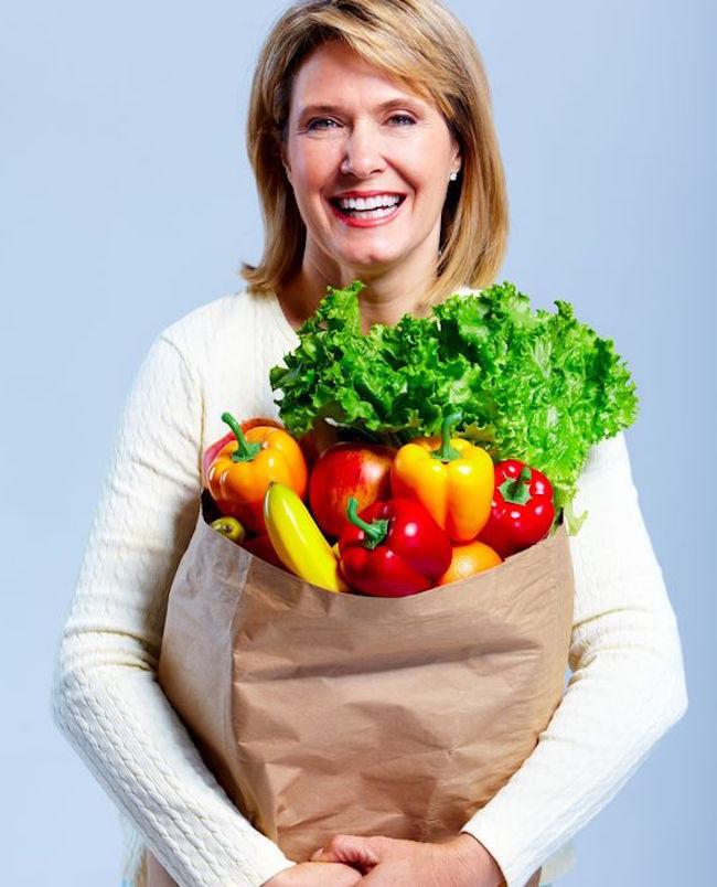 luptând să slăbească în menopauză