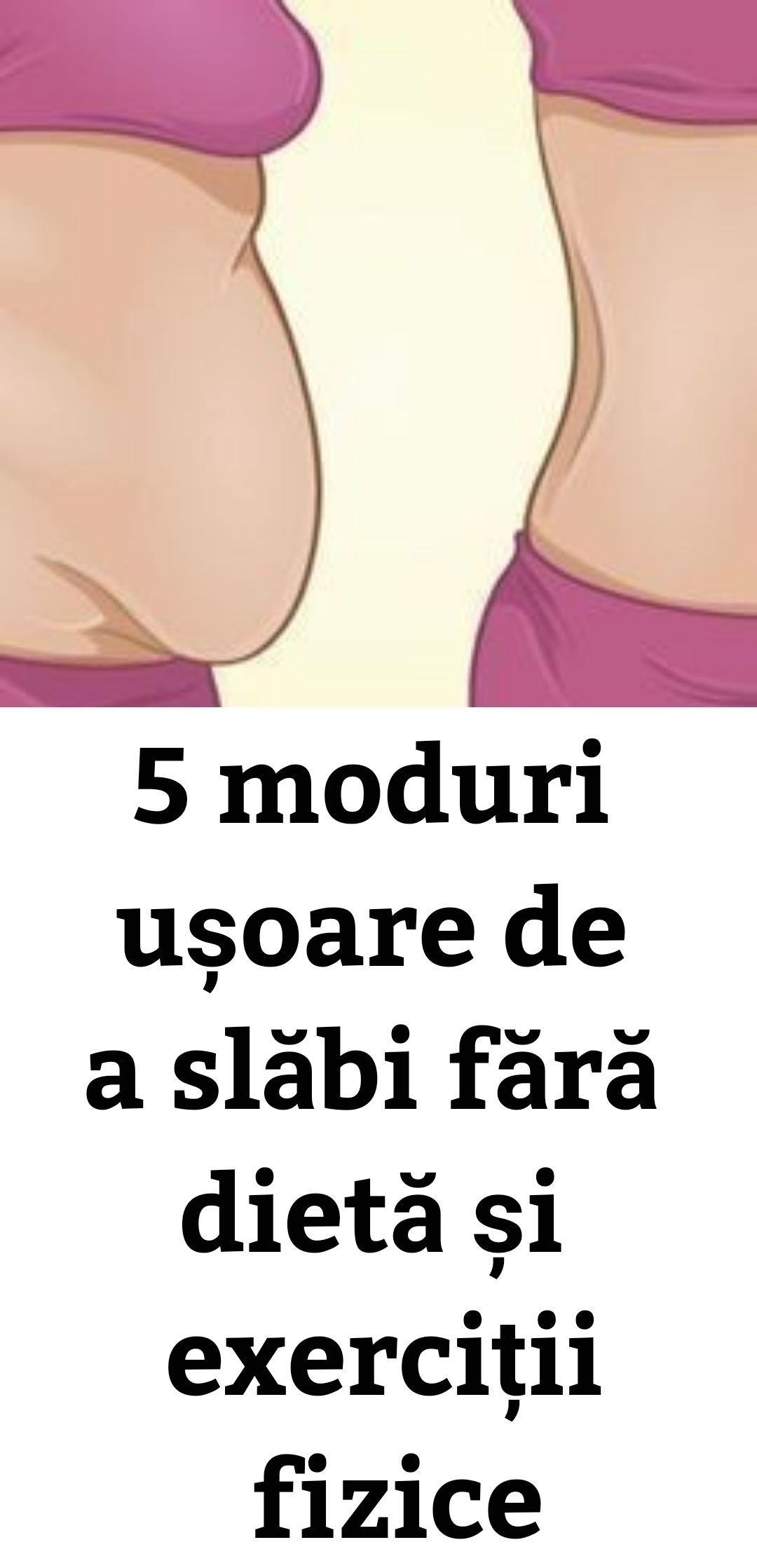 top 5 sfaturi pentru pierderea în greutate)