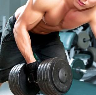 pierzi în greutate făcând greutăți)