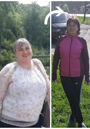 30 de kilograme povești de succes în pierderea în greutate