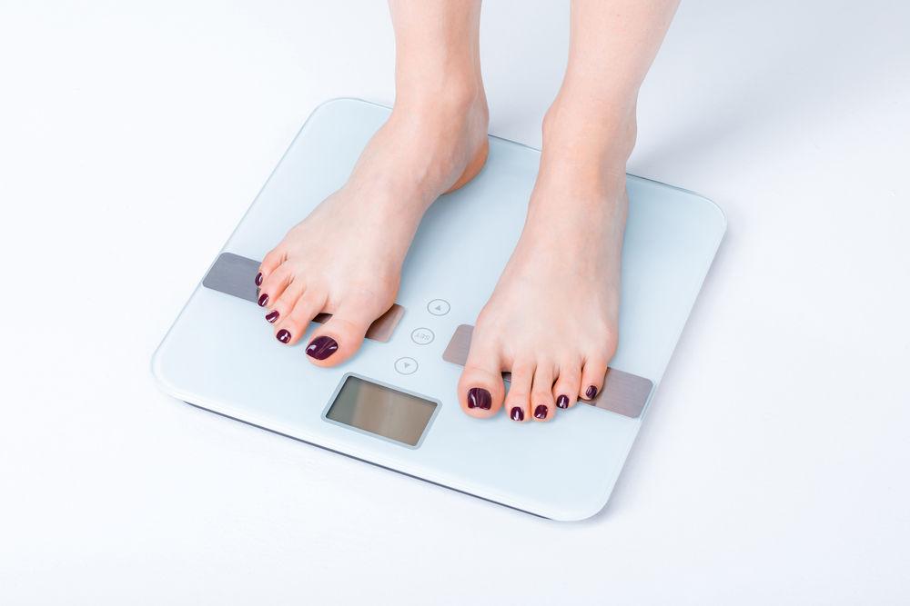 scădere în greutate pe parcursul anului 2020