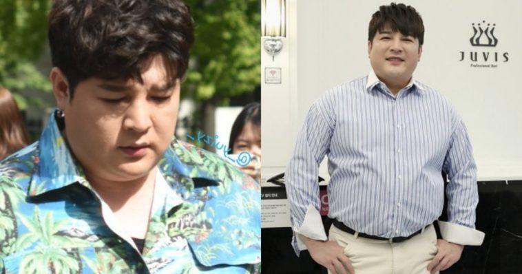 super junior shindong pierde în greutate
