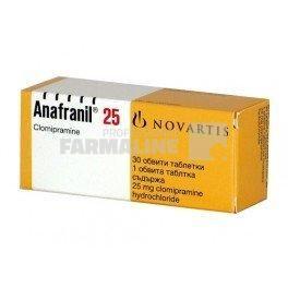 Anafranil 25 mg – Doze, indicatii, reactii adverse