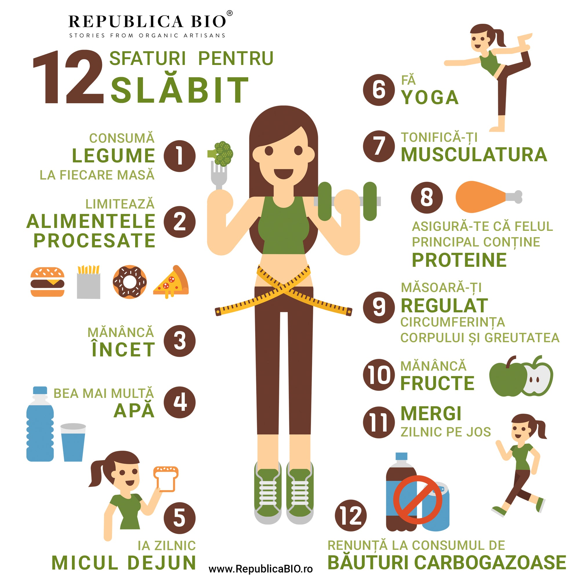 10 sfaturi de slăbit