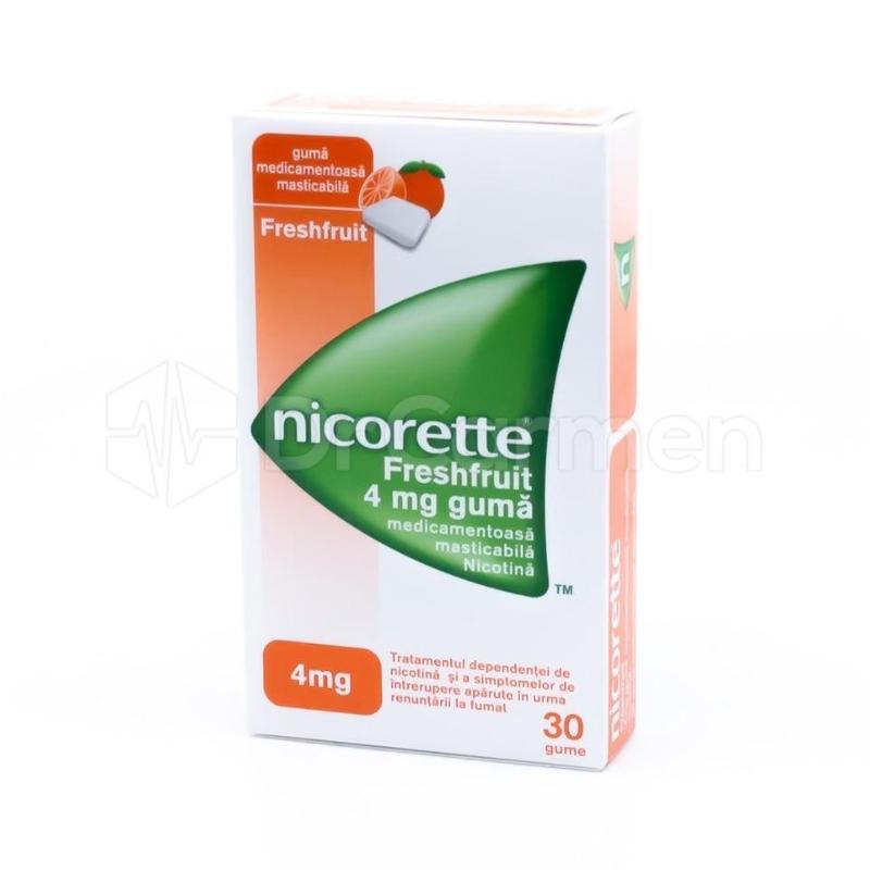 mesteca nicorette pentru a slabi