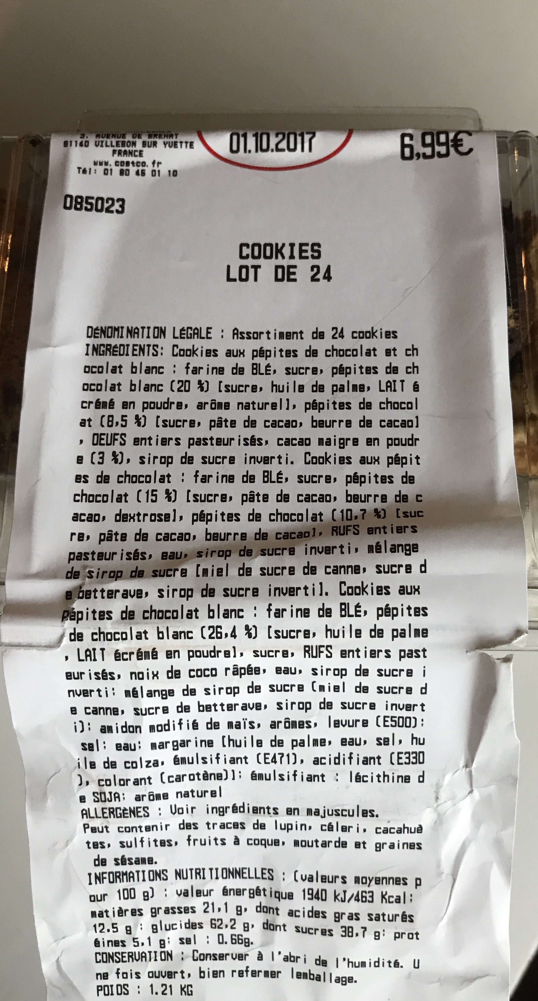 cookie-uri de slabire costco