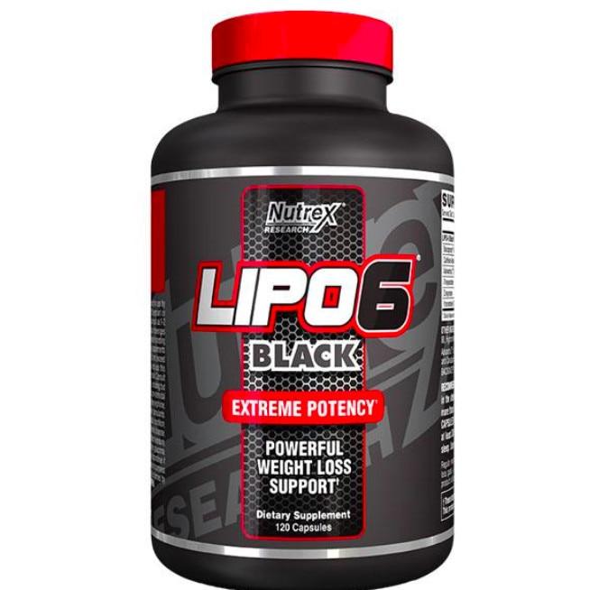 Nutrex Lipo 6 Black (40 comprimate) (Suplimente nutritive) - Preturi
