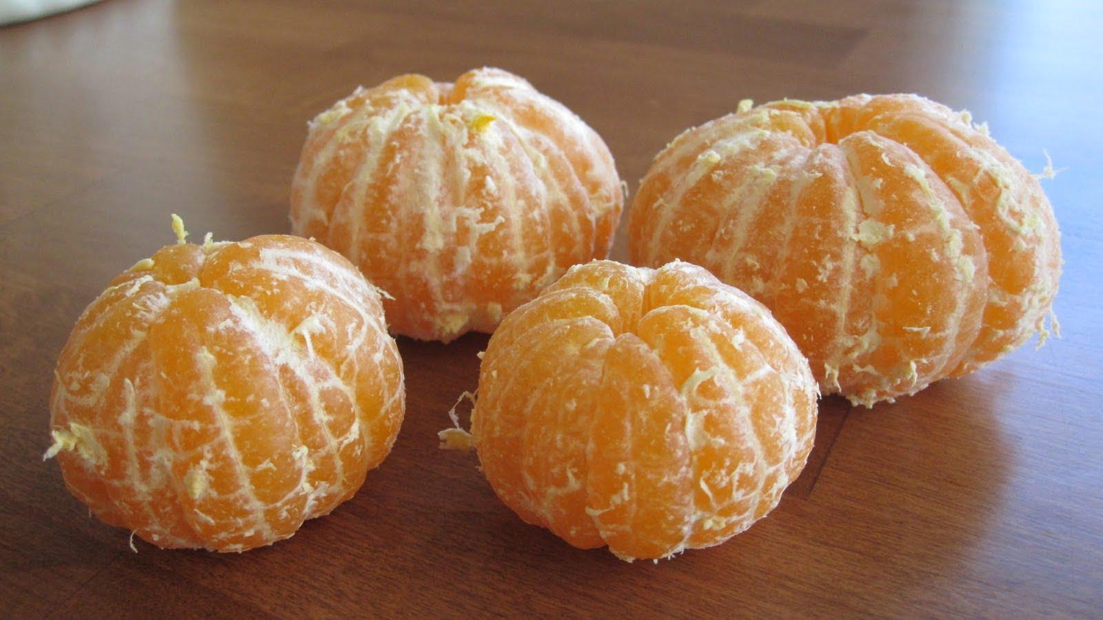 mandarinele te fac să slăbești)