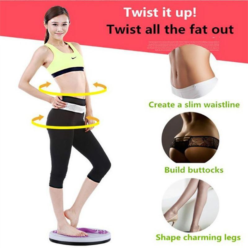 Un cerc rotativ pentru pierderea în greutate. Disc de exerciții de sănătate slăbit