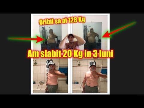 slabire 20 de kilograme in 3 luni)