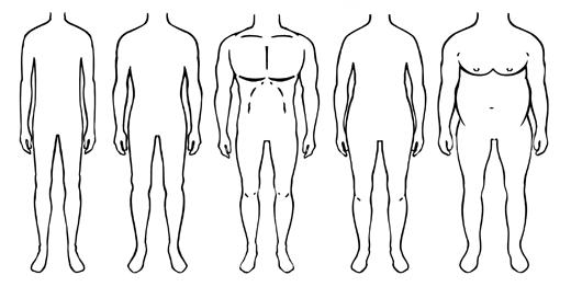 Valoarea subțire a corpului)