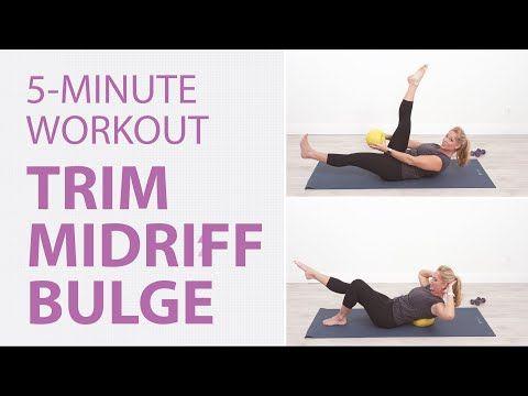 slim down midriff