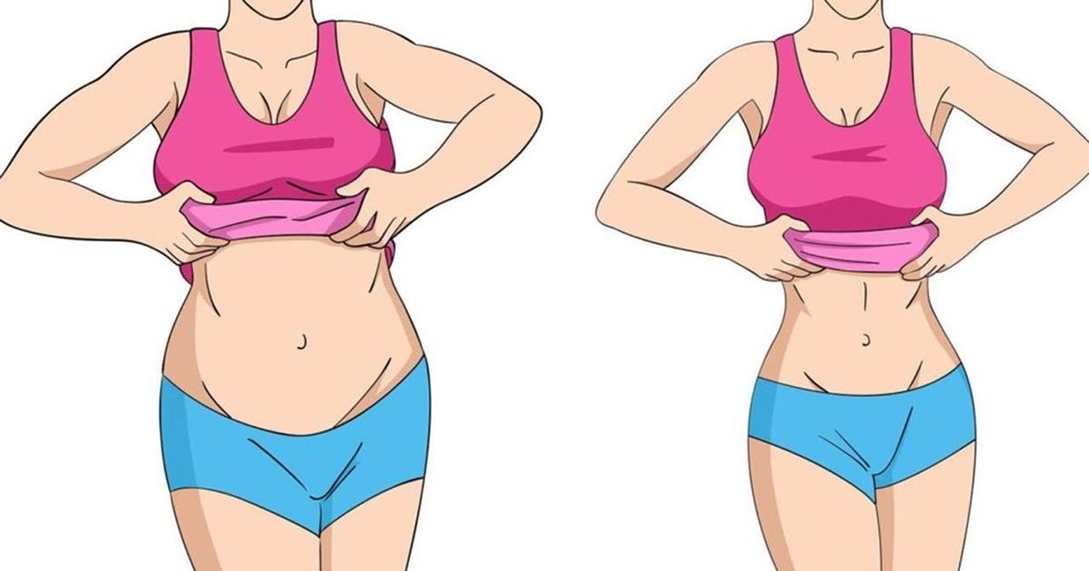 pierde în greutate burtă mai mică)