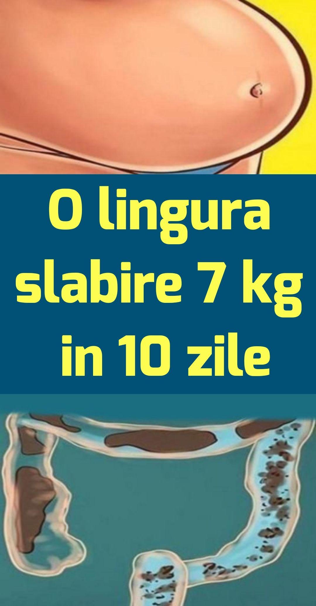 Pierdere în greutate de 10 kg în 7 zile)