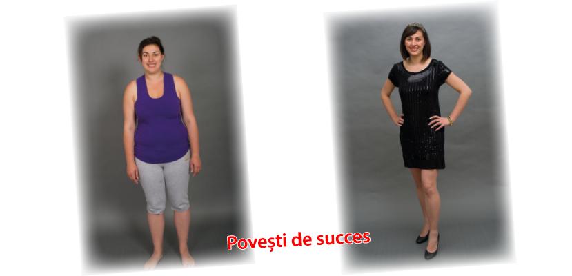 noi povești de succes în pierderea în greutate