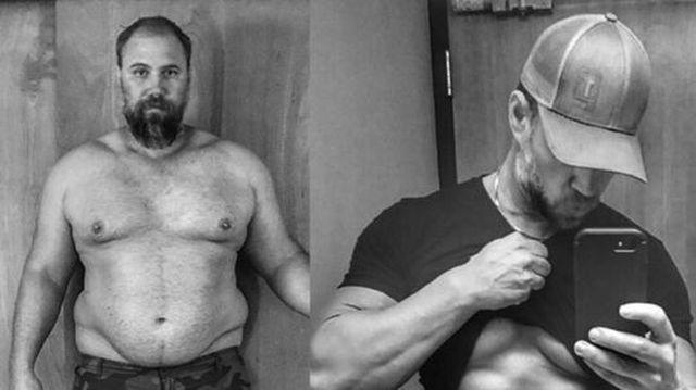 luptând să slăbesc în 40 de ani
