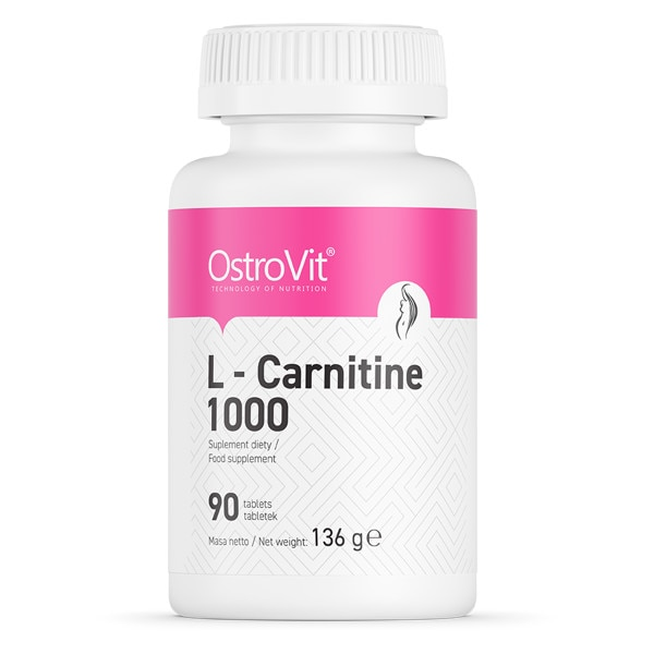Arzator de grasimi Yamamoto Nutrition Carnitine 1000, 90 tablete