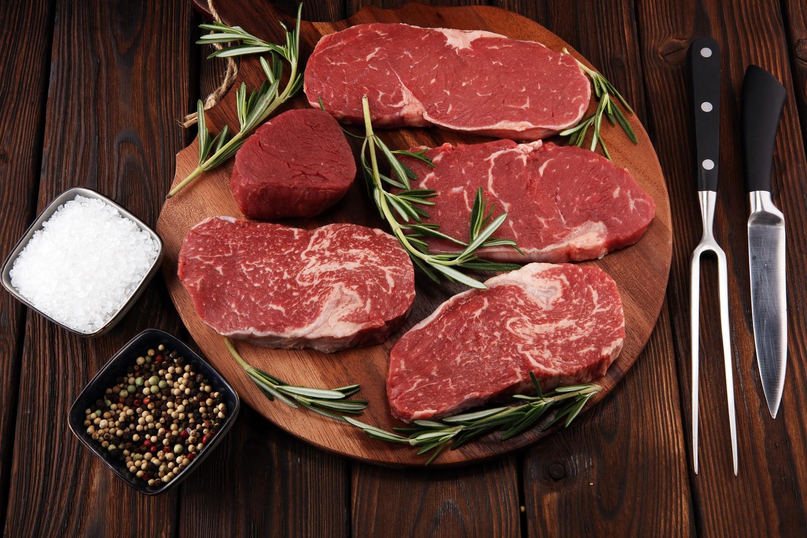 carne de vită măcinată cu pierdere de grăsime)