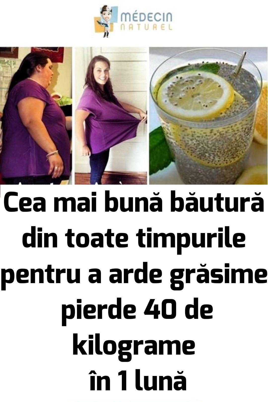 pierde 40 de kilograme de grăsime