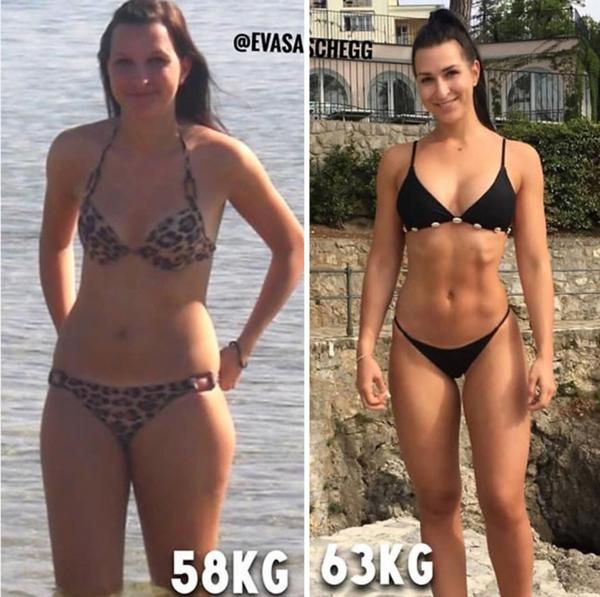 pierderea în greutate a miezului corporal)