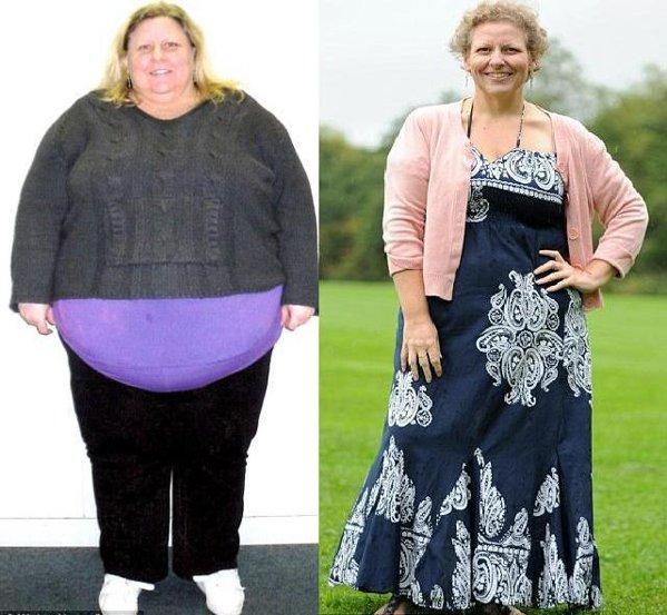 scădere în greutate pentru femeia în vârstă de 44 de ani