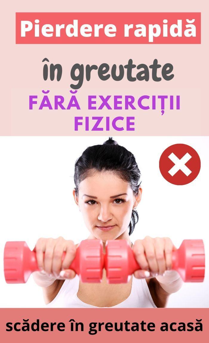 scădere în greutate fără greutăți)