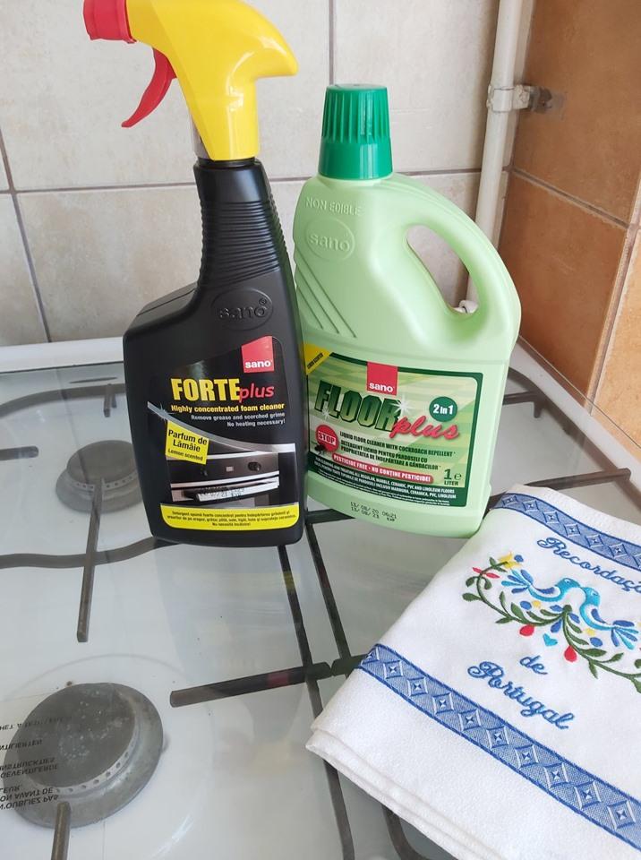 Detergent gel pentru grasime arsa Sano Forte Plus, 500 ml