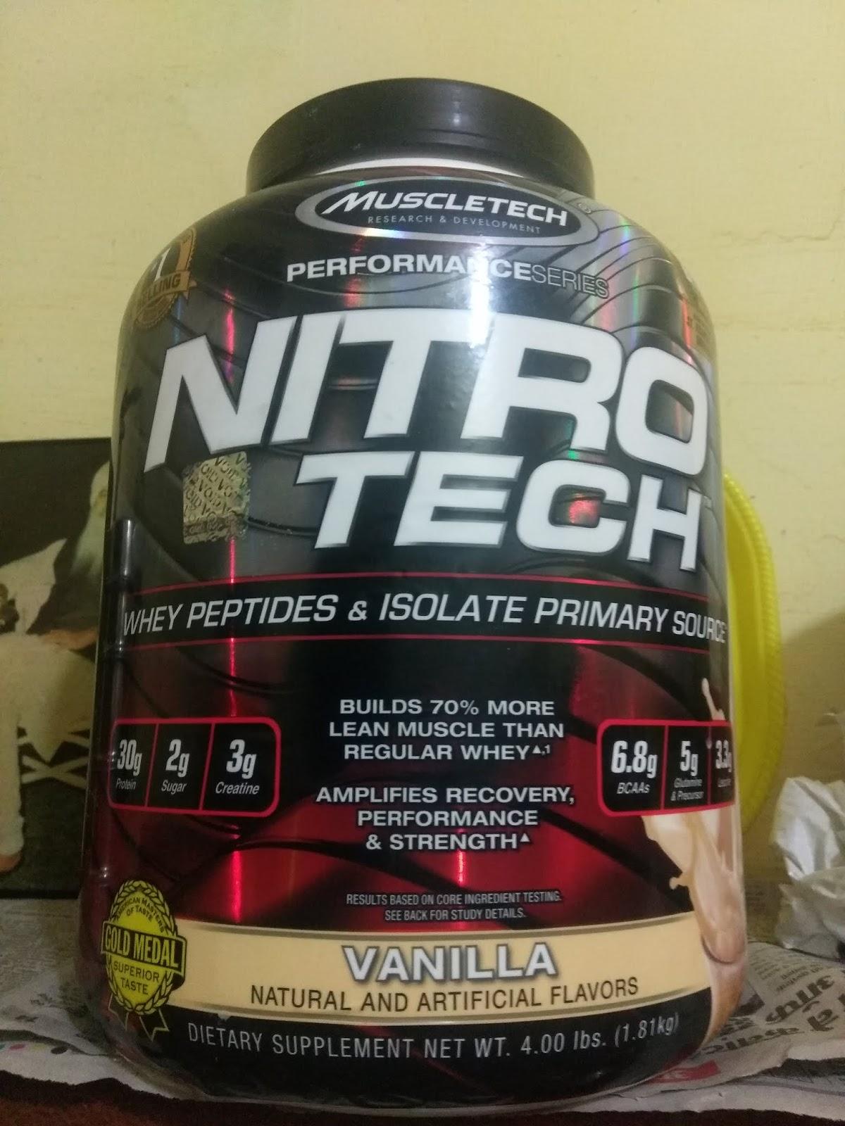 nitro-tech te ajută să slăbești
