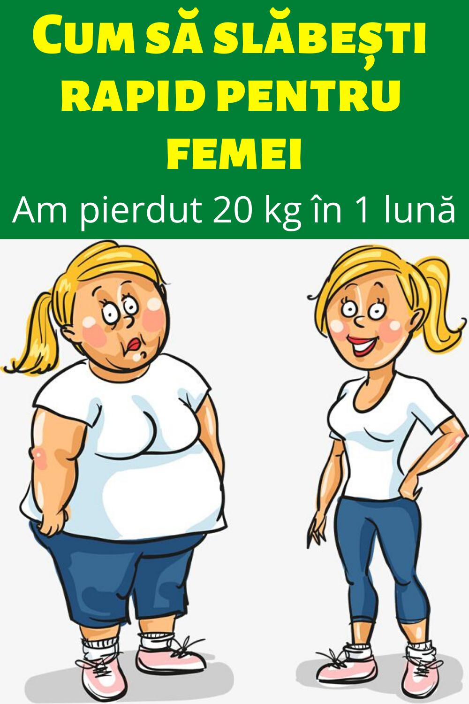 cât pierdere în greutate în 1 lună
