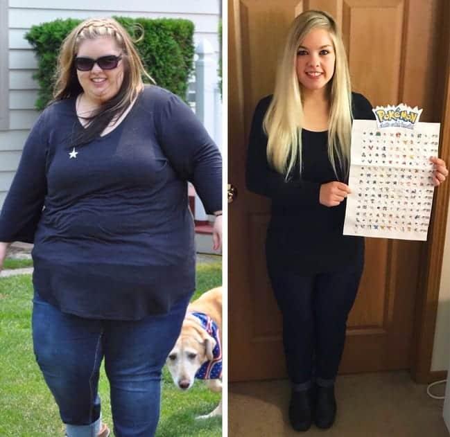 Pierdere în greutate de 50 kg în 6 luni