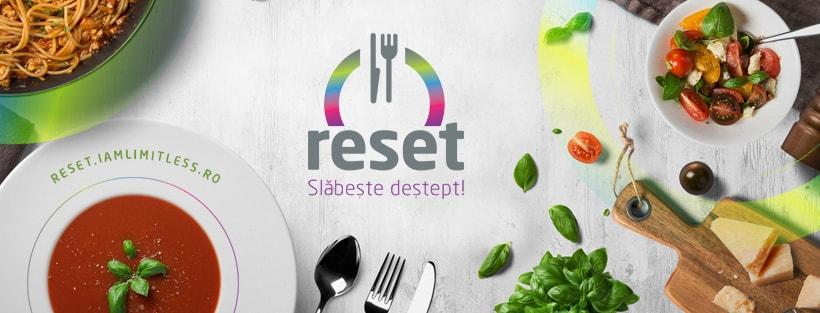 Slăbește deștept cu RESET! Mănânci bine, slăbești sigur! Află și tu cum!