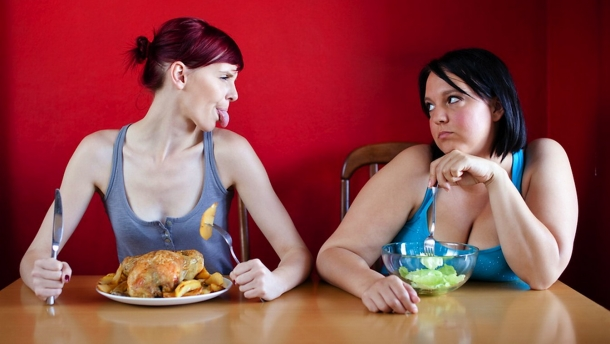 încercând să slăbească ce să mănânci