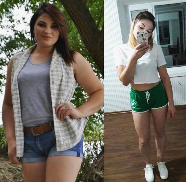 90 kg pierd in greutate