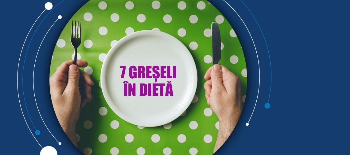10 greșeli de pierdere în greutate