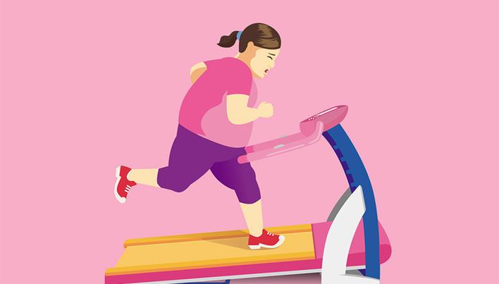 scădere în greutate fără greutăți