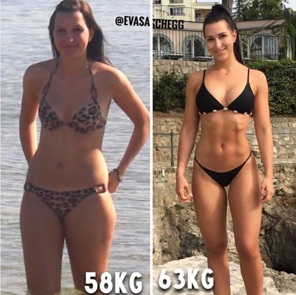scădere în greutate pentru o femeie de 58 kg
