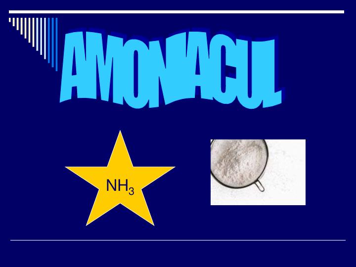 miros de arsuri de amoniac)