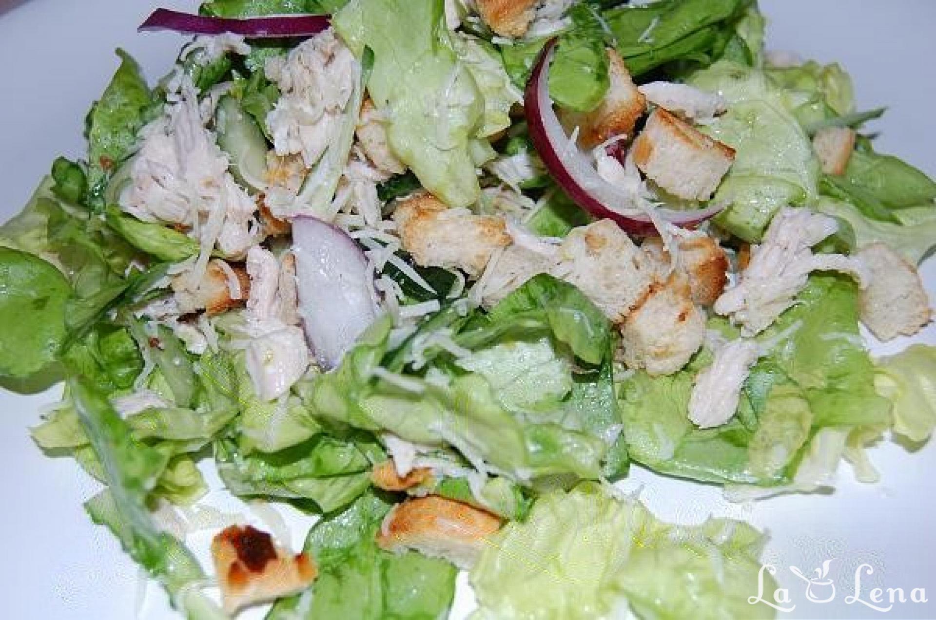 salata de romaine slabire)