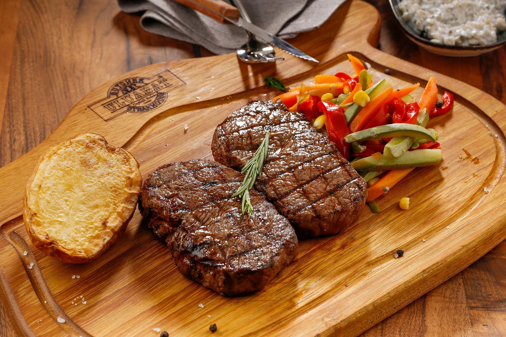 carne de vită hrănită pierde în greutate)