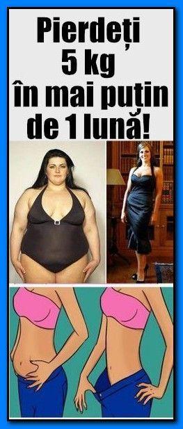 cât pierdere în greutate în 1 lună)