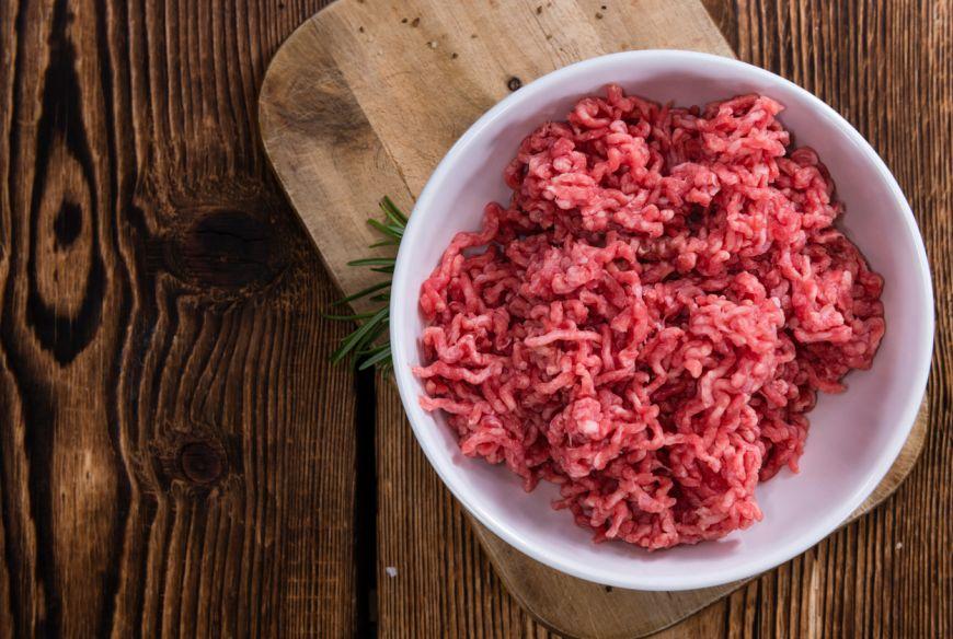 elimina carne tocată de vită