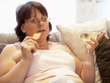 Femeia în vârstă de 45 de ani nu poate slăbi