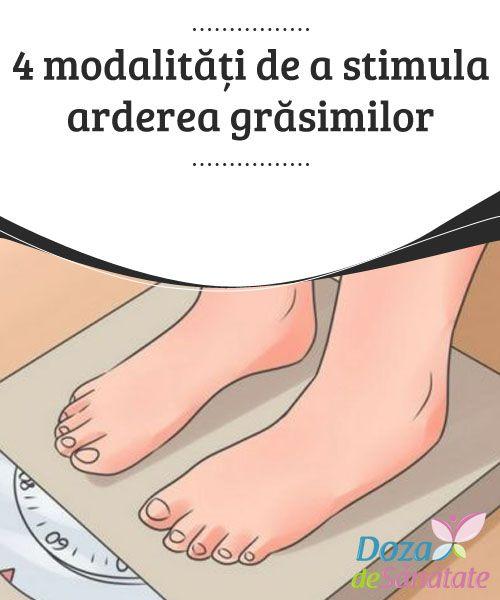 modalități naturale de a stimula pierderea în greutate