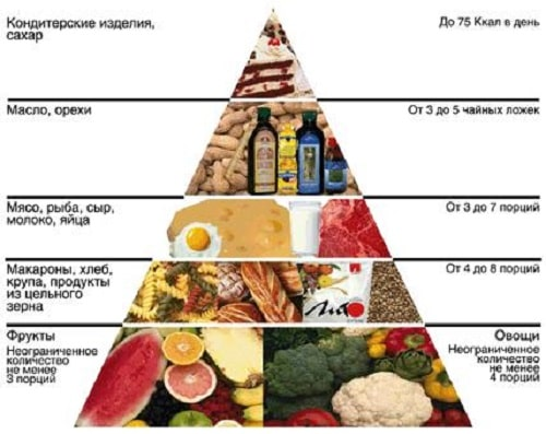 piramida pierderii de grăsime)